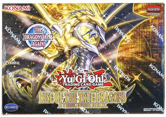 Konami Yu-Gi-Oh Rise of the True Dragons Structure Deck Box