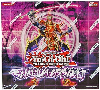 Konami Yu-Gi-Oh Samurai Assault Special Edition Box