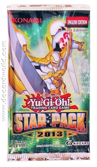 Konami Yu-Gi-Oh Star Pack 1st Edition Booster Pack