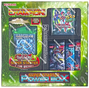 Konami Yu-Gi-Oh Super Starter V For Victory Power Box