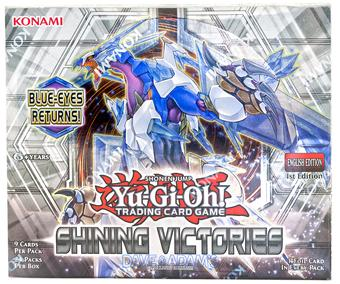 Konami Yu-Gi-Oh Shining Victories Booster Box