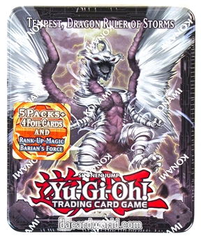 Konami Yu-Gi-Oh 2013 Collectible Tins Wave 2 Tin - Tempest Dragon Ruler