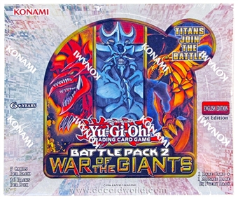 Konami Yu-Gi-Oh Battle Pack 2: War of the Giants Booster Box