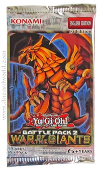 Konami Yu-Gi-Oh Battle Pack 2: War of the Giants Booster Pack