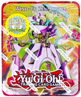 Konami Yu-Gi-Oh 2011 Holiday Tins Wave 1 Wind-Up Zenmaister Tin