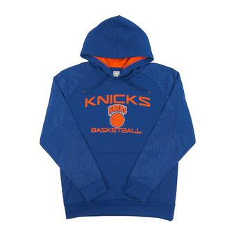 New York Knicks Majestic Blue Jump Off Performance Fleece Hoodie (Adult XXL)