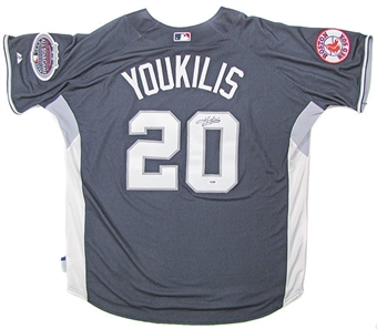 Kevin Youkilis Autographed 2008 All-Star Game Batting Practice Jersey