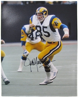 Jack Youngblood Autographed L.A. Rams 16x20 Photo
