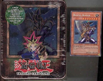 Upper Deck Yu-Gi-Oh 2003 Holiday Buster Blader Tin