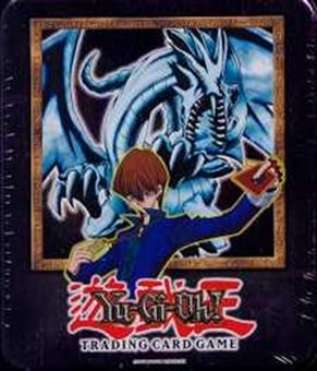 Upper Deck Yu-Gi-Oh 2002 Holiday Blue Eyes White Dragon Tin