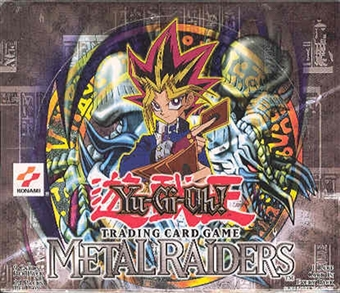 Upper Deck Yu-Gi-Oh Metal Raiders 1st Edition Booster Box (24 packs)
