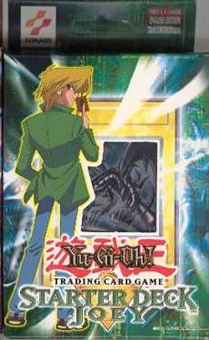 Upper Deck Yu-Gi-Oh Starter Joey 1st Edition Deck - Slightly Damaged