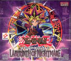 Upper Deck Yu-Gi-Oh Labyrinth of Nightmare 1st Edition Booster Box (36-Pack)