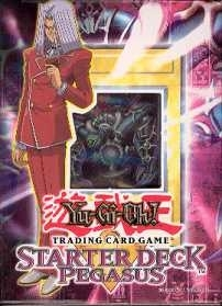 Upper Deck Yu-Gi-Oh Starter Pegasus 1st Edition Sealed Deck