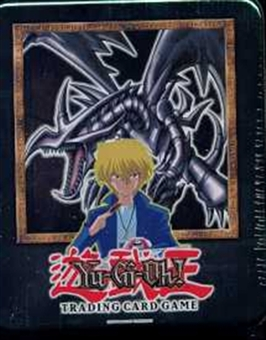Upper Deck Yu-Gi-Oh 2002 Holiday Red Eyes Black Dragon Tin