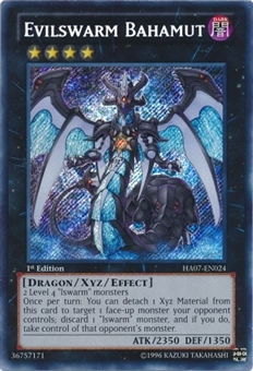Yu-Gi-Oh Hidden Arsenal 7 Single Evilswarm Bahamut Secret Rare