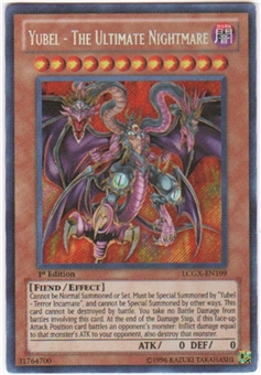 Yu-Gi-Oh Legendary Collection 2 Single Yubel - The Ultimate Nightmare Secret Rare