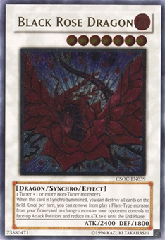 Yu-Gi-Oh Crossroads of Chaos Single Black Rose Dragon Ultimate Rare - SLIGHT PLAY (SP)