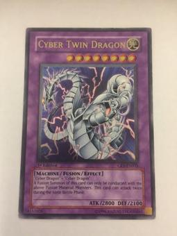 Yu-Gi-Oh Cybernetic Revolution 1st Edition Cyber Twin Dragon Ultimate