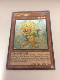 Yu-Gi-Oh Astral Pack 4 Single DandyLion Ultimate Rare - SLIGHT PLAY (SP)