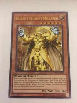 Yu-Gi-Oh OTS Tournament Pack Single Kuraz The Light Monarch Ultimate Rare - NEAR MINT (NM)