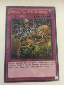 Yu-Gi-Oh Astral Pack 6 Single Traptrix Trap Hole Nightmare Ultimate Rare - NEAR MINT (NM)