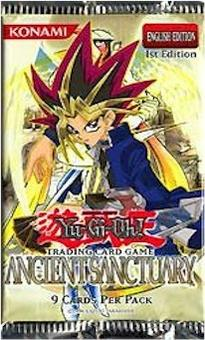 Upper Deck Yu-Gi-Oh Ancient Sanctuary 1st Edition Booster Pack