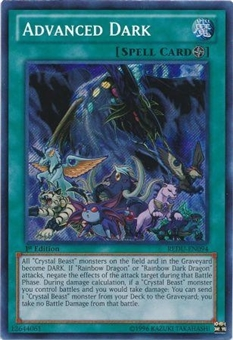 Yu-Gi-Oh Collectible Tins 1st. Ed. Single Advanced Dark Secret Rare - NEAR MINT (NM)