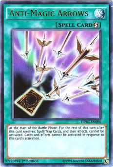 Yu-Gi-Oh DPBC 1st Ed. Single Anti-Magic Arrows Ultra Rare - NEAR MINT (NM)