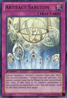 Yu-Gi-Oh Primal Origin 1st Ed. Single Artifact Sanctum Ultra Rare - NEAR MINT (NM)
