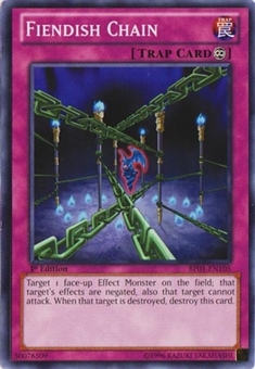 Yu-Gi-Oh Battle Pack 01 1st Ed. Single Fiendish Chain Common - NEAR MINT (NM)