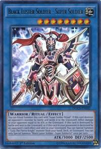Yu-Gi-Oh DOCS 1st Ed. Single Black Luster Soldier - Super Soldier Ultra Rare - NEAR MINT (NM)