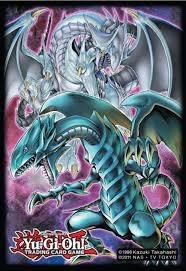 Yu-Gi-Oh Blue-Eyes White Dragon Sleeves - 50 Ct.