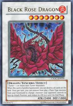 Yu-Gi-Oh Crossroads of Chaos Single Black Rose Dragon Ultra Rare - SLIGHT PLAY (SP)