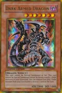 Yu-Gi-Oh Gold 2 Single Dark Armed Dragon Ultra Rare - NEAR MINT (NM)