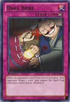 Yu-Gi-Oh Battle Pack Epic Dawn 1st Ed. Single Dark Bribe Rare - NEAR MINT (NM)