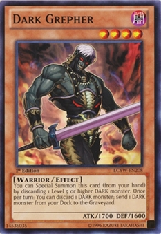 Yu-Gi-Oh Legendary Collection Single Dark Grepher Common -  NEAR MINT (NM)