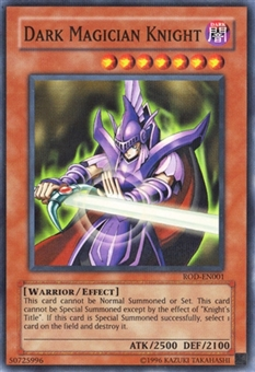 Yu-Gi-Oh Promotional Single Dark Magician Knight Ultra Parallel Rare - SLIGHT PLAY (SP)