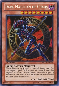 Yu-Gi-Oh Legendary Collection 3 1st. Ed. Single Dark Magician of Chaos Secret Rare - NM