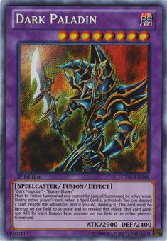 Yu-Gi-Oh Legendary Collection Single Dark Paladin Secret Rare - NEAR MINT (NM)