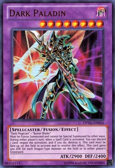 Yu-Gi-Oh Single Duelist Pack 9 1st Ed. Single Dark Paladin Ultra Rare - SLIGHT PLAY