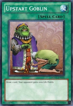 Yu-Gi-Oh Promo Single Upstart Goblin Common - SLIGHT PLAY (SP)