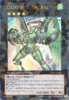 Yu-Gi-Oh Duel Terminal 1st Ed. Single Daigusto Emeral Shatterfoil - NEAR MINT (NM)
