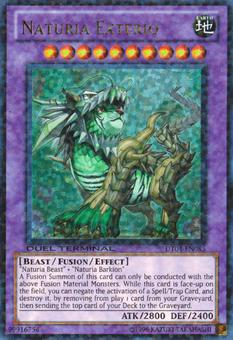 Yu-Gi-Oh Duel Terminal Single Naturia Exterio - NEAR MINT (NM)
