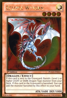 Yu-Gi-Oh Premium Gold 1st Ed. Single Eclipse Wyvern Gold Rare - NEAR MINT (NM)