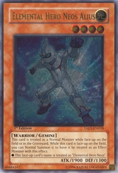Yu-Gi-Oh Tactical Evolution 1st Ed. Single Elemental Hero Neos alius Ultimate Rare - NEAR MINT (NM)