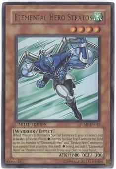 Yu-Gi-Oh Promo JUMP Single Elemental Hero Stratos Ultra Rare - NEAR MINT (NM)