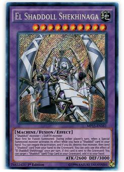 Yu-Gi-Oh MP15 1st Ed. Single El Shaddoll Shekhinaga Secret Rare - NEAR MINT (NM)