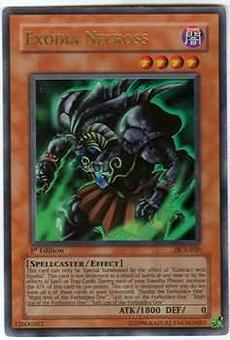 Yu-Gi-Oh Dark Crisis 1st Edition Exodia Necross Ultra Rare (DCR-020) - NEAR MINT / SLIGHT PLAY (NM/SP)