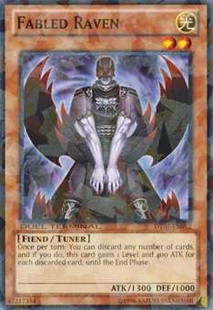 Yu-Gi-Oh Duel Terminal Single Fabled Raven DT078-EN012 - NEAR MINT (NM)